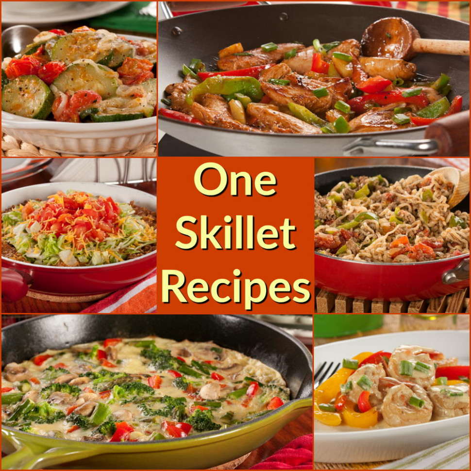 12 Easy One Skillet Recipe: Healthy Skillet Recipes The ..