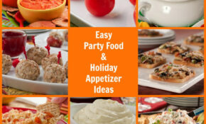 12 Easy Party Food And Holiday Appetizer Ideas | MrFood