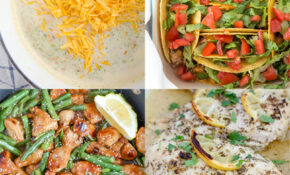 12 Easy Weeknight Meals For Busy Families | YellowBlissRoad
