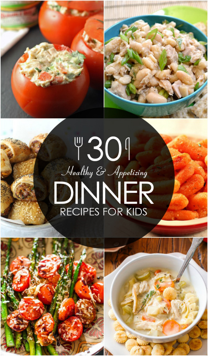 12 Healthy and Appetizing Dinner Recipes for Kids - healthy recipes for kids