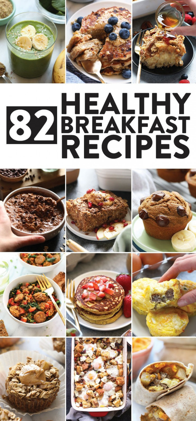 12 Healthy Breakfast Ideas - Fit Foodie Finds - recipes delicious healthy breakfast