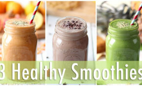 12 Healthy Smoothie Recipes | Healthy Breakfast Ideas – Healthy Recipes Youtube