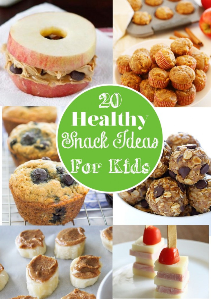 12 Healthy Snack Ideas For Kids - Snack Smart! - healthy recipes and snacks