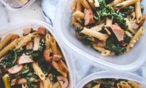 12 Ingredient Healthy Pasta For Meal Prep Lunches – Sweetphi – Recipes Easy Healthy Cheap