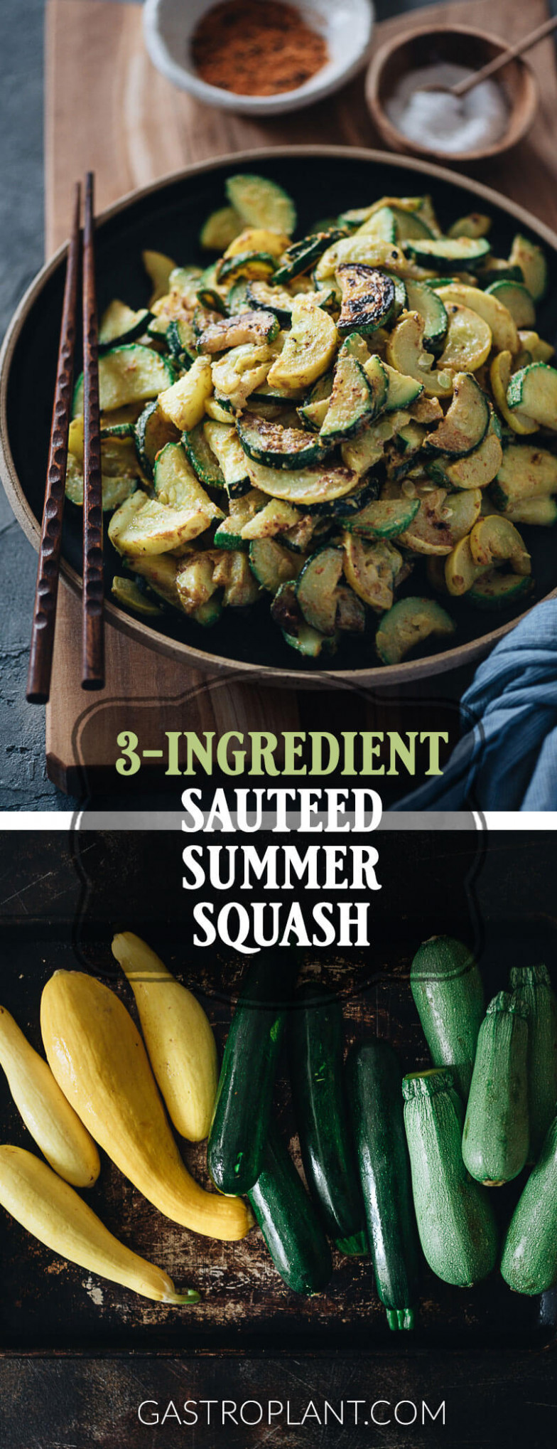 12-Ingredient Sauteed Summer Squash | Gastroplant - healthy yellow squash recipes