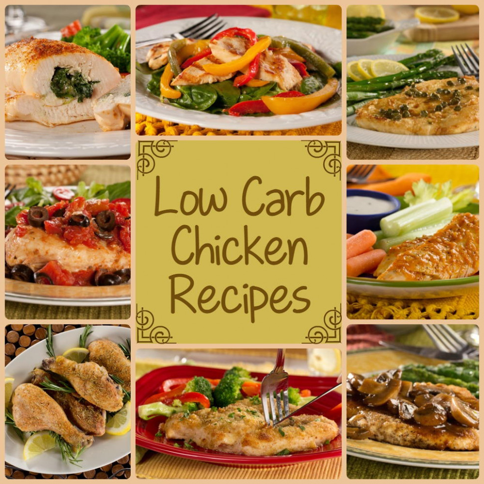 12 Low Carb Chicken Recipes for Dinner ..