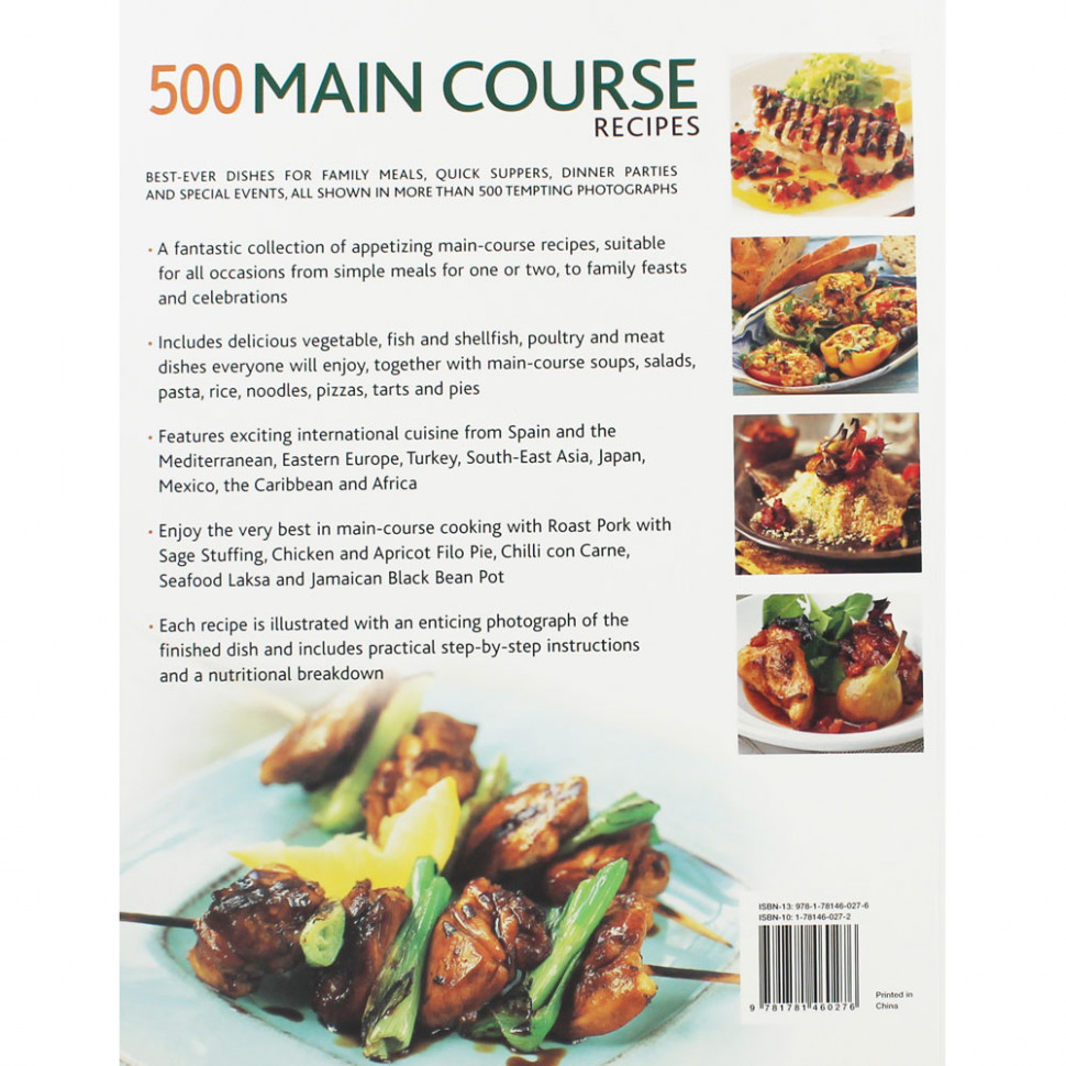 12 Main Course Recipes by Jenni Fleetwood | Cookery Books at The Works - recipes dinner party main course