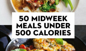 12 Midweek Meals Under 120 Calories | Meals Under 120 ..