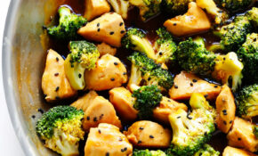 12 Minute Chicken And Broccoli | Gimme Some Oven – Recipes Easy Chicken