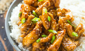 12 Minute Healthy Sesame Chicken – Chicken Recipes Quick And Tasty