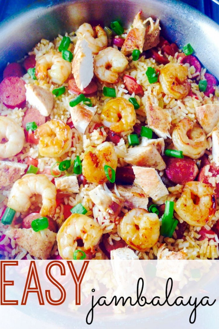 12-Minute Jambalaya Recipe - The Classy Chapter - recipes jambalaya dinner