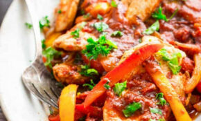 12 Minute Low Carb Turkey And Peppers – Healthy Seasonal Recipes – No Carb Recipes Dinner