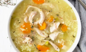 12 Minute Rotisserie Chicken And Rice Soup – Recipes Using Rotisserie Chicken