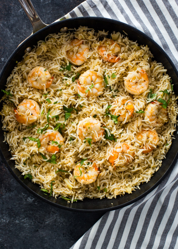 12 Minute Shrimp and Rice - recipes to try for dinner