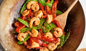 12 Minute Shrimp & Veggie Stir Fry – Recipes Vegetarian Stir Fry