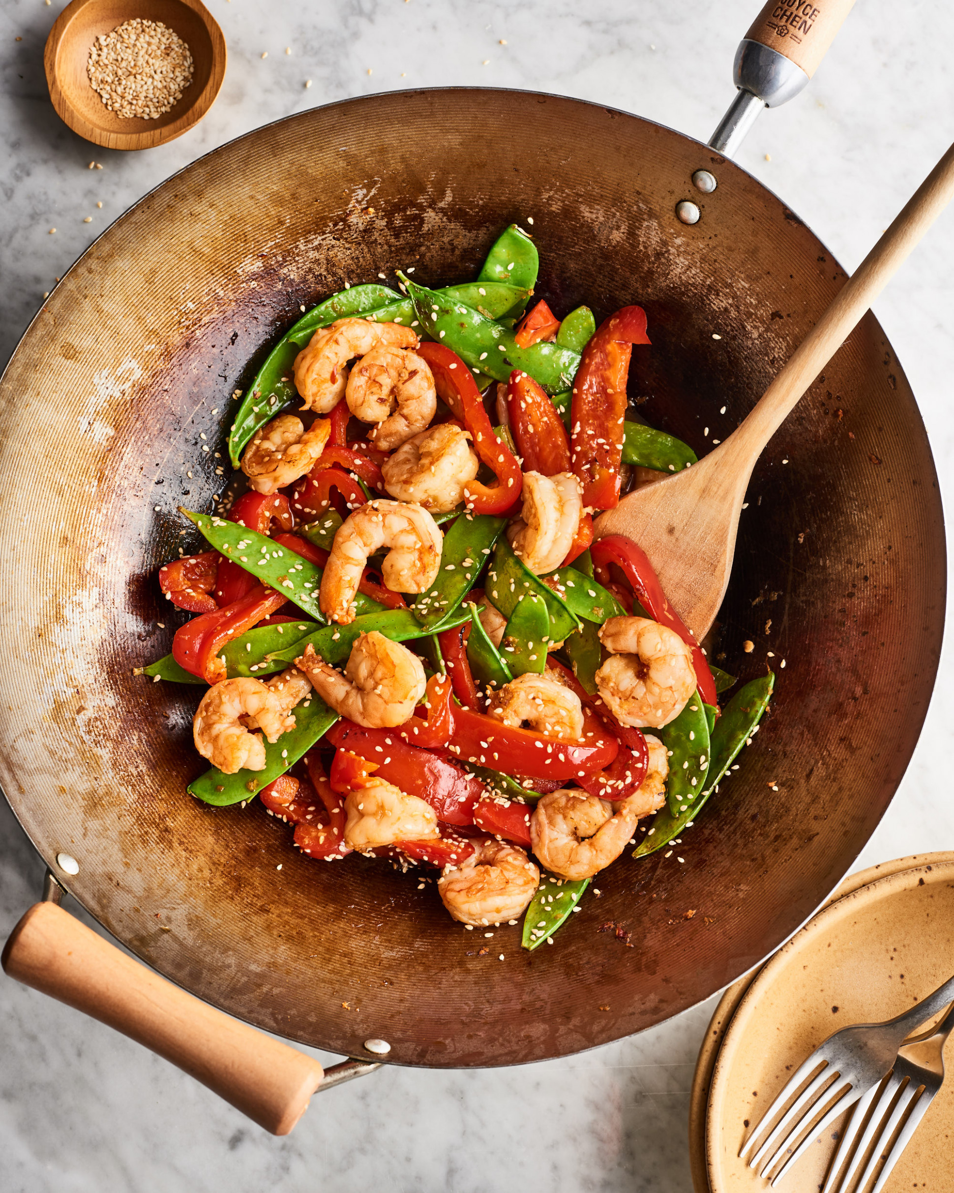 12-Minute Shrimp & Veggie Stir-Fry - recipes vegetarian stir fry