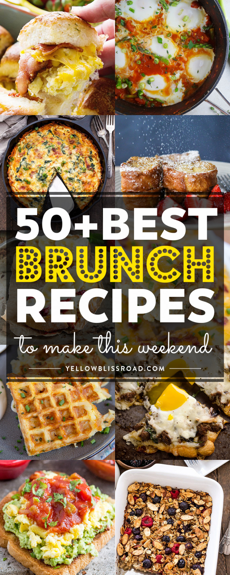 12 of the Best Brunch Recipes to Make this Weekend - recipes guests dinner