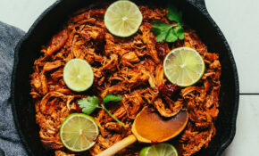 12 Pan Mexican Shredded Chicken | Minimalist Baker Recipes – Recipes Made With Chicken