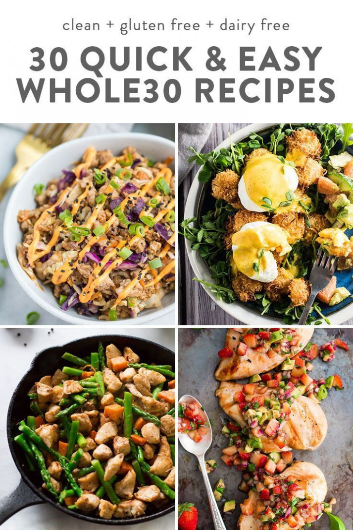 12 Quick Whole12 Recipes | Dairy Free | Whole12 dinner ..