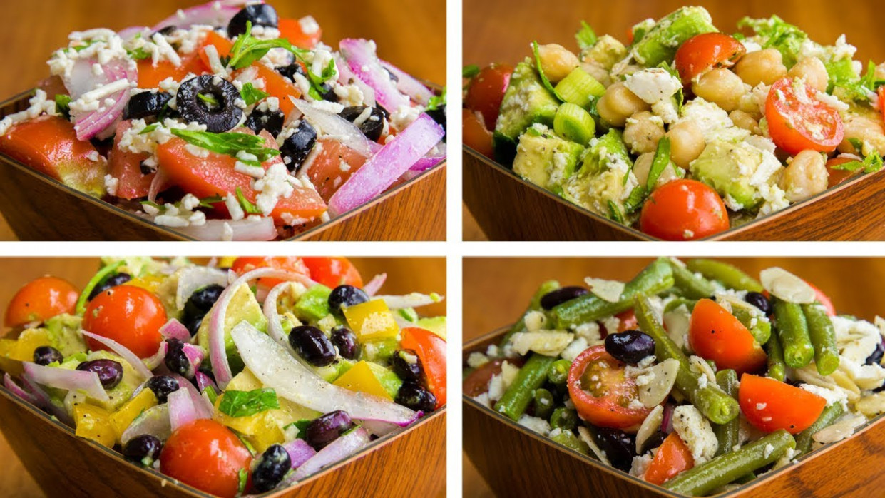 12 Salad Recipes For Weight Loss Vegetarian | Healthy Salad ..