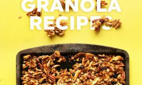 12 Simple Vegan Granola Recipes | Minimalist Baker – Recipes Simple Vegetarian