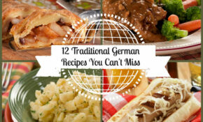 12 Traditional German Recipes You Can't Miss | MrFood