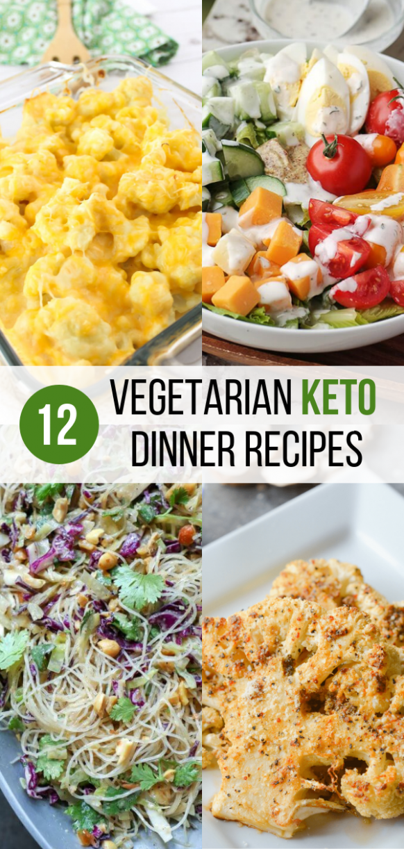 12 Vegetarian Keto Recipes to Make for Dinner | Food and ..