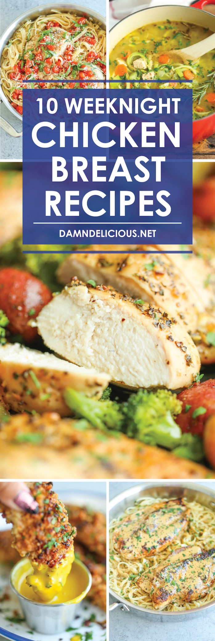 12 Weeknight Chicken Breast Recipes - Damn Delicious - Breast Recipes Chicken Quick