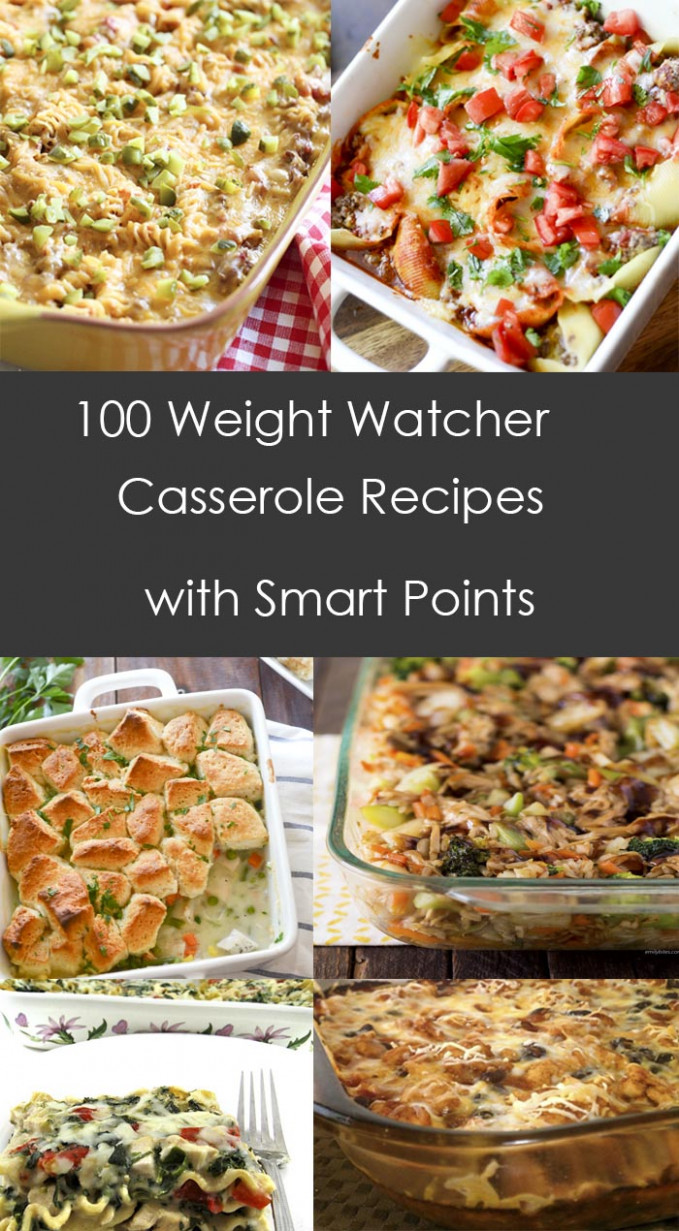 12 Weight Watcher Casserole Recipes with Smart Points ..