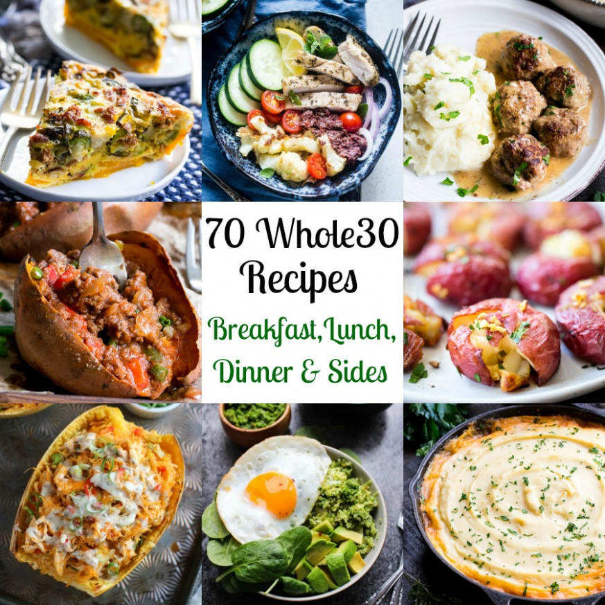 12 Whole12 Recipes Breakfast, Lunch, Dinner, Sides | The ..