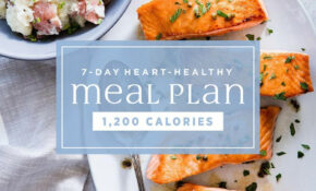 122-Day Heart-Healthy Meal Plan: 12,12 Calories | EatingWell