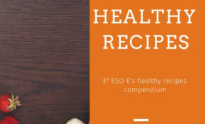12º ESO E's Healthy Recipes By Rocio.lp