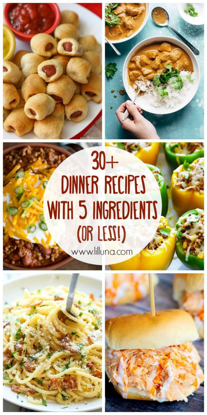 13+ 13 Ingredient (or Less!) Dinner Recipes | Feed Me Seymour ..