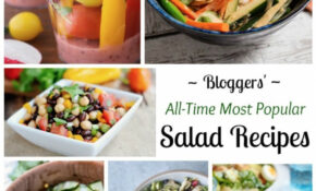 13 All Time Best Healthy Salad Recipes – Two Healthy Kitchens – Healthy Recipes Your Husband Will Love