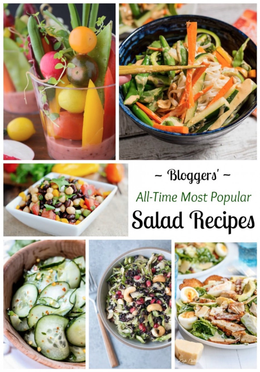 13 All-Time Best Healthy Salad Recipes - Two Healthy Kitchens - healthy recipes your husband will love
