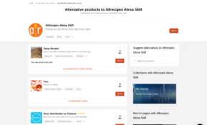 13 Alternatives To Allrecipes Alexa Skill | Product Hunt – All Recipes Dinner