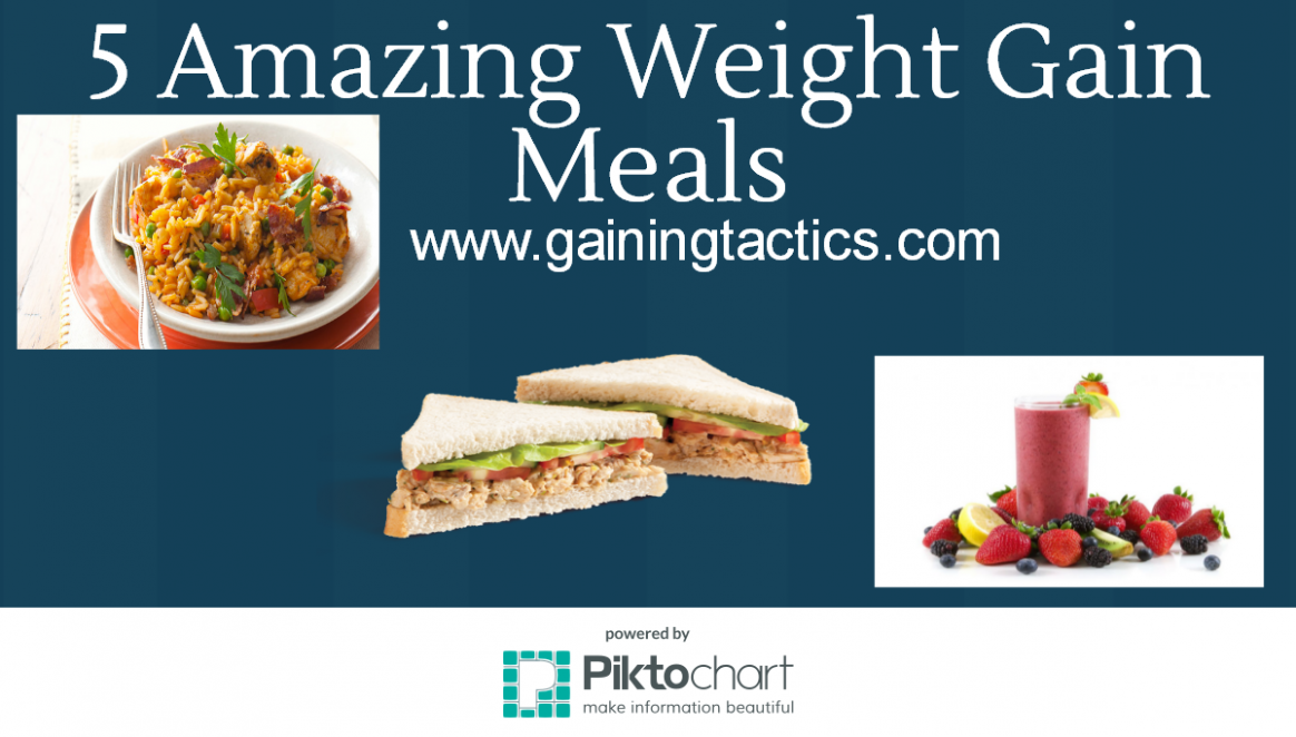 13 Amazing Weight Gain Meals - Gaining Tactics - food recipes to gain weight