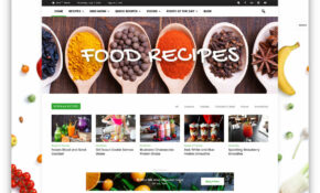 13 Awesome Food WordPress Themes To Share Recipes 13 ..