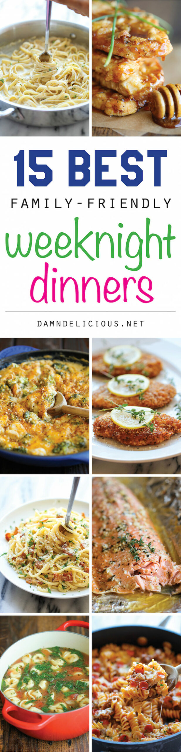 13 Best Family-Friendly Weeknight Dinners - Damn Delicious - kid friendly recipes dinner