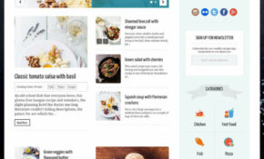 13+ Best Food And Recipe WordPress Themes 13 – DesignMaz – Food Recipes WordPress Theme