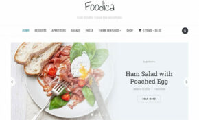13+ Best Food WordPress Themes For Sharing Recipes 13 ..