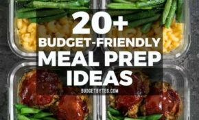 13+ Budget Friendly Meal Prep Ideas – Budget Bytes – Recipes That Are Cheap And Healthy