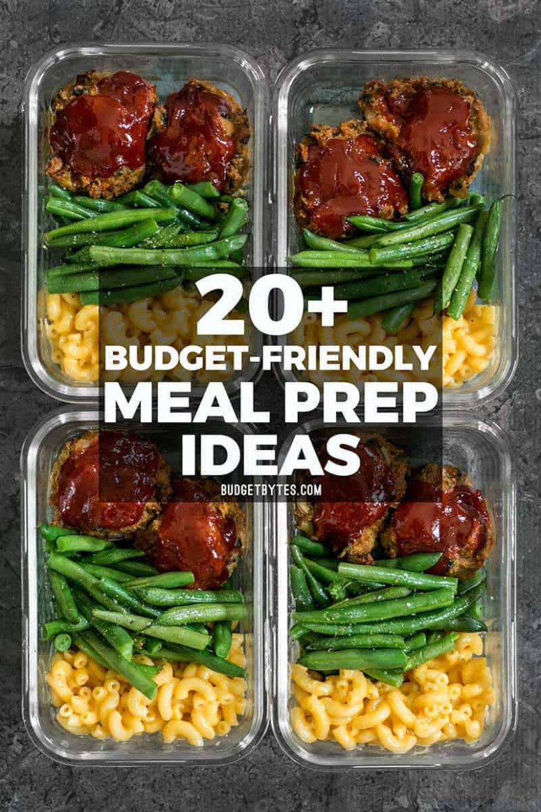 13+ Budget Friendly Meal Prep Ideas - Budget Bytes - recipes that are cheap and healthy