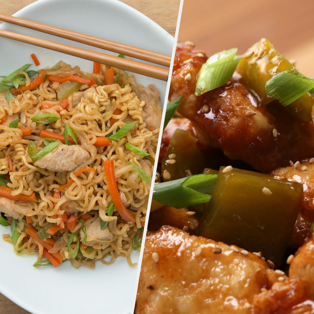 13 Chinese Inspired Takeout Dishes | Recipes - recipes for chinese food