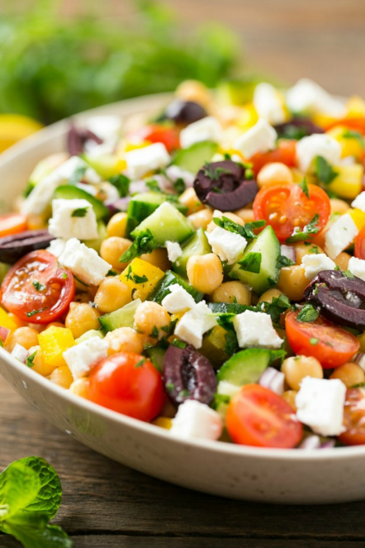 13 Chopped Salads Inspired From Flavors From Around The World - Dinner At The Zoo Recipes