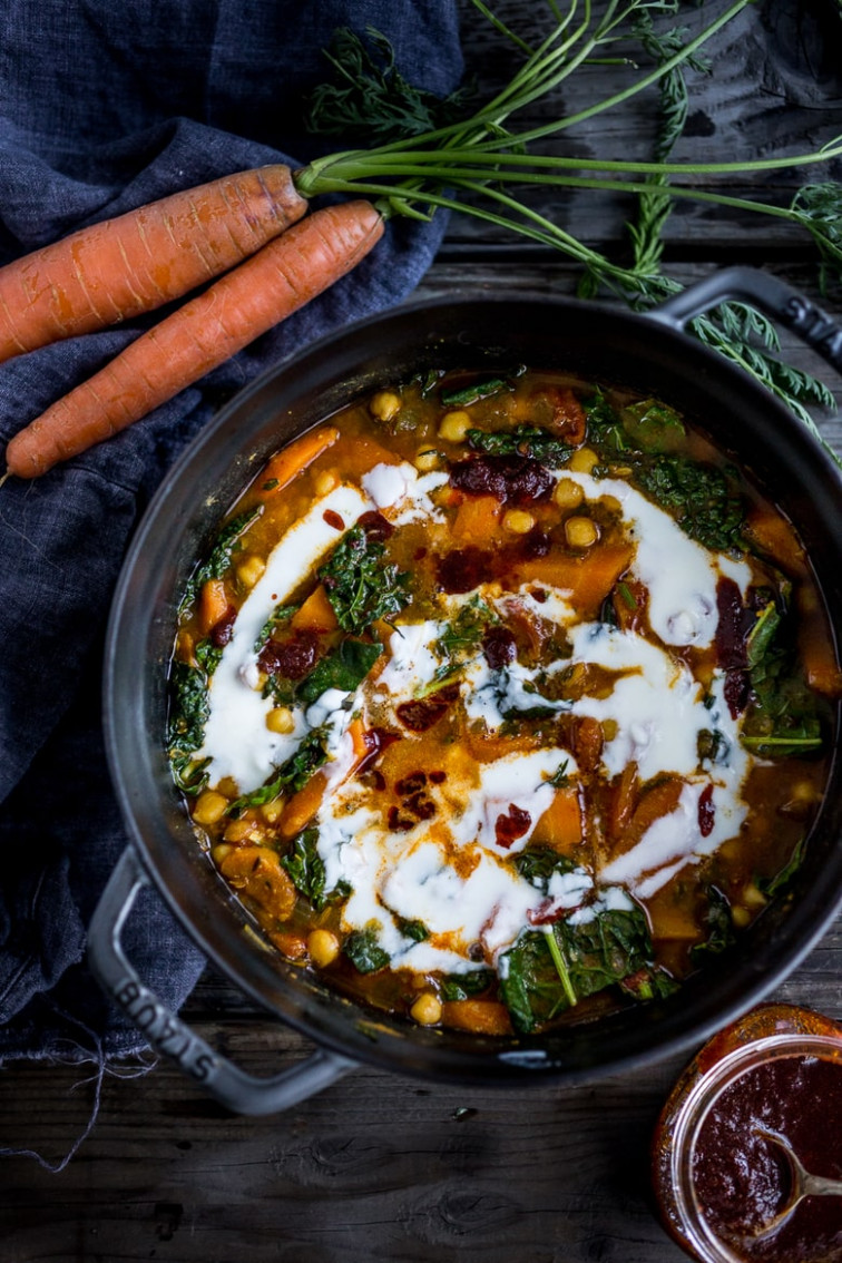 13 Cozy Vegetarian Dinners for Fall! | Feasting at Home - healthy dinner recipes vegetarian