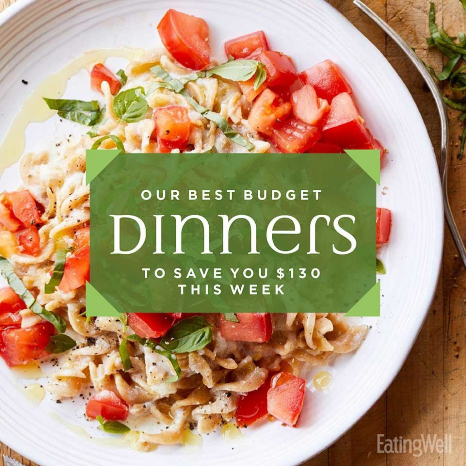 13-Day Meal Plan: Our Best Budget Dinners to Save You $13 ..