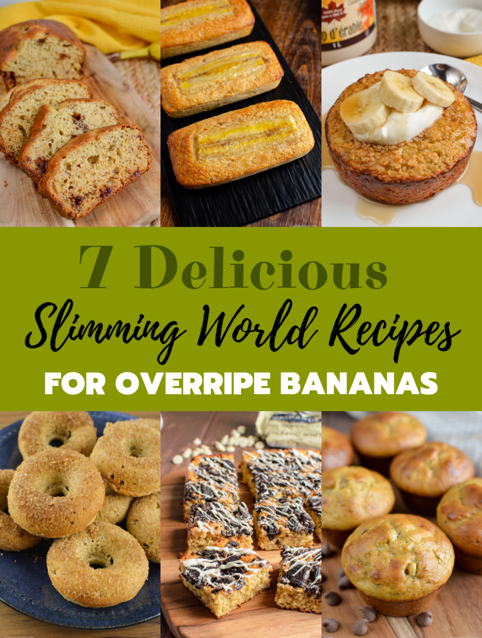 13 Delicious Slimming World Recipes To Make With Overripe Bananas - healthy recipes ripe bananas