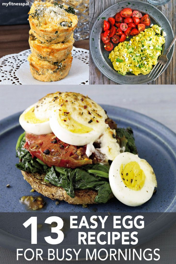 13 Easy Egg Recipes for Busy Mornings | Healthy Recipes ..