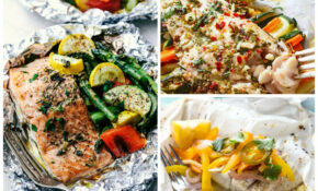 13 Easy Fish Foil Packet Dinners For Healthy Weight Loss – Food Recipes Healthy Weight Loss